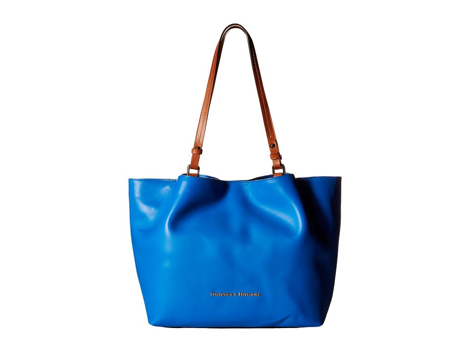 Dooney & Bourke - City Flynn (Ocean/Natural Trim) Tote Handbags