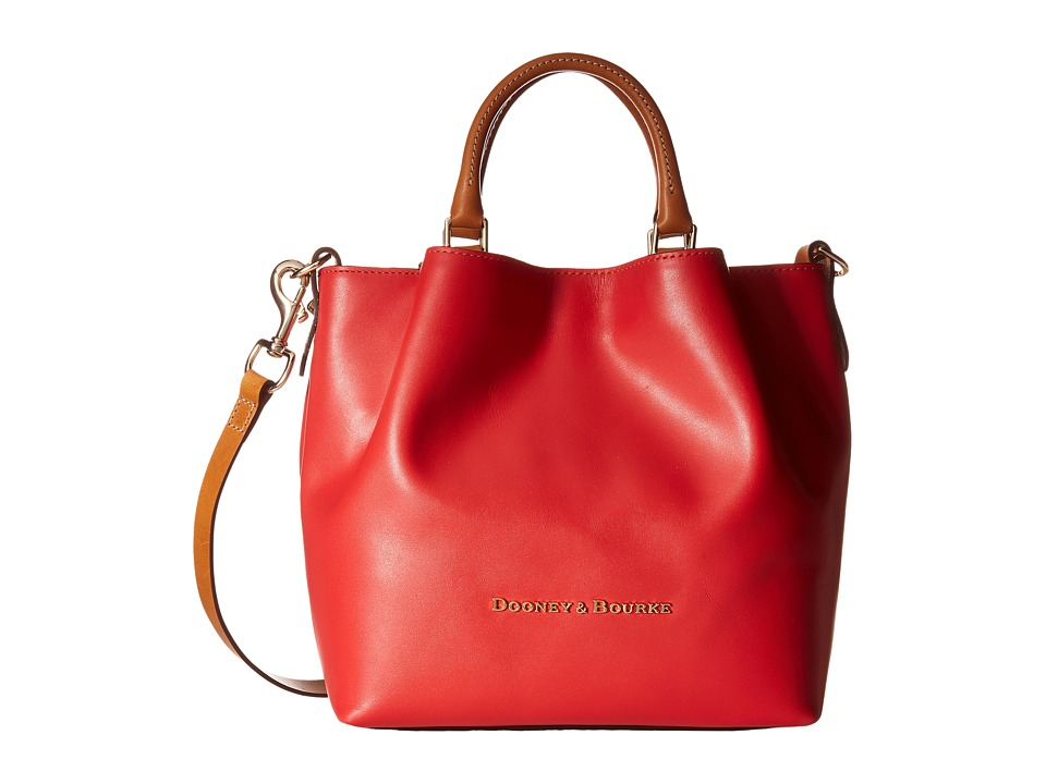 Dooney & Bourke - City Small Barlow (Geranium / Natural Trim) Handbags