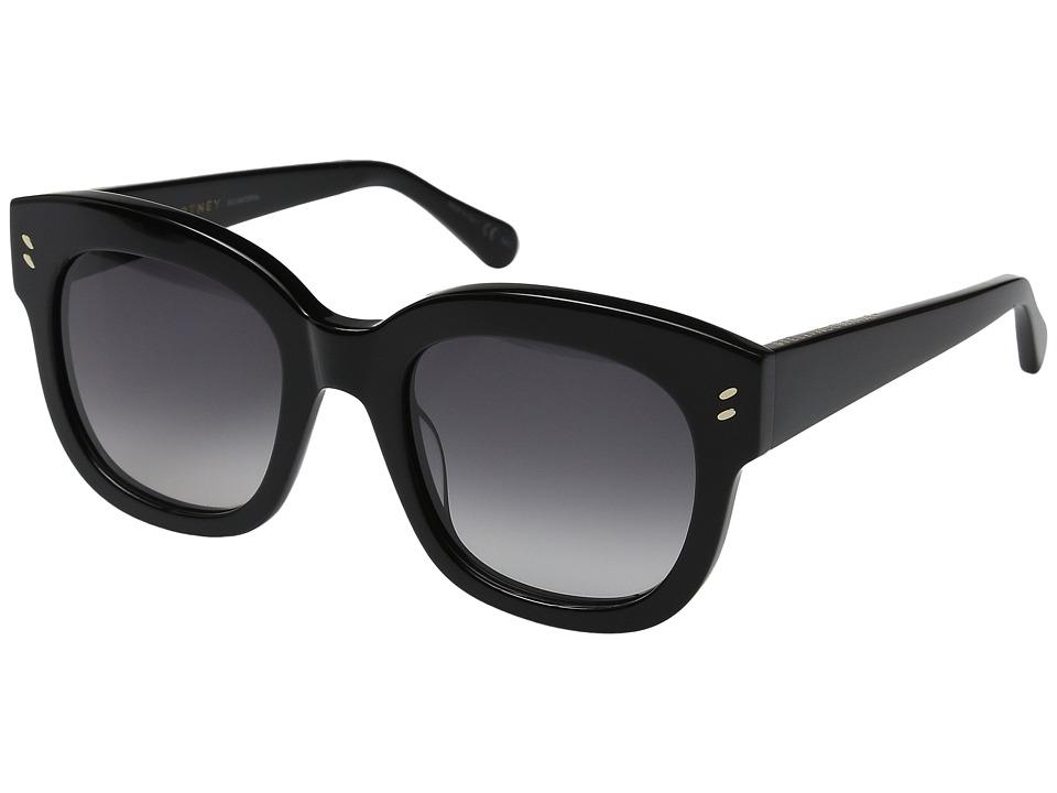 Stella McCartney SC0026S Black/Grey Gradient Fashion Sunglasses