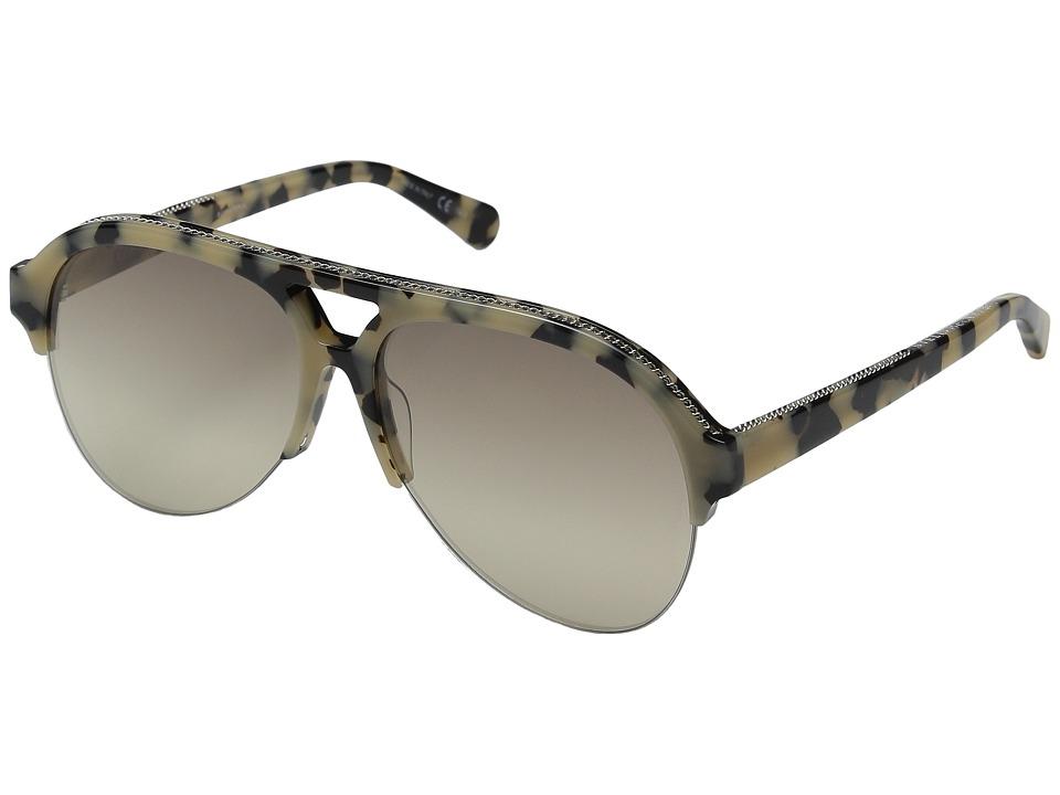 Stella McCartney SC0030S Vintage Havana/Grey Fashion Sunglasses
