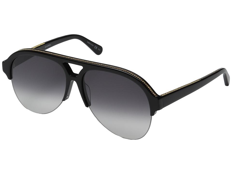 Stella McCartney SC0030S Black/Grey Gradient Fashion Sunglasses