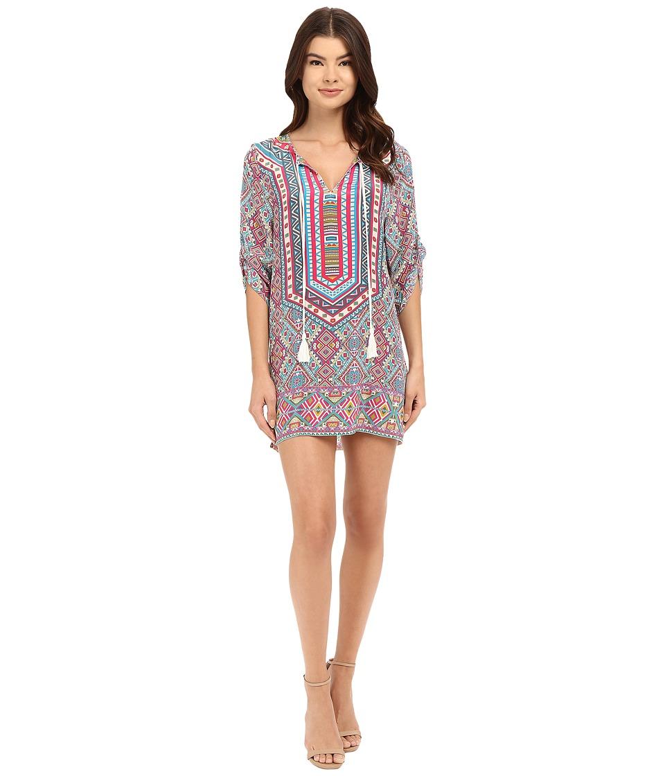 Tolani Reese Tunic Dress Pastel Womens Dress