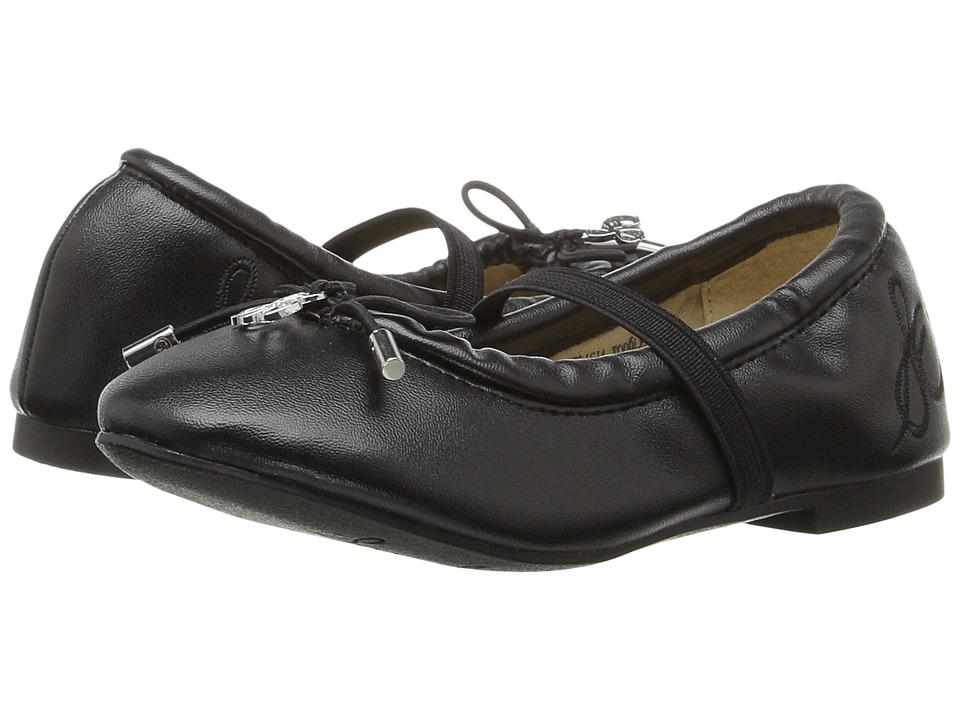 Sam Edelman Kids Felicia (Toddler) (Black) Girl's Shoes