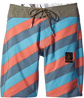 Volcom Kids - Stripey Slinger Boardshorts (Big Kids)