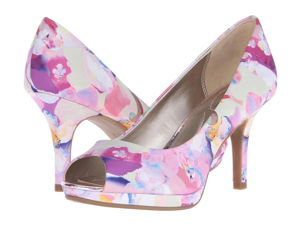 Bandolino Supermodel Pink Floral Multi Womens Shoes