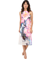 Vince Camuto - Sleeveless Printed Chiffon Midi Dress