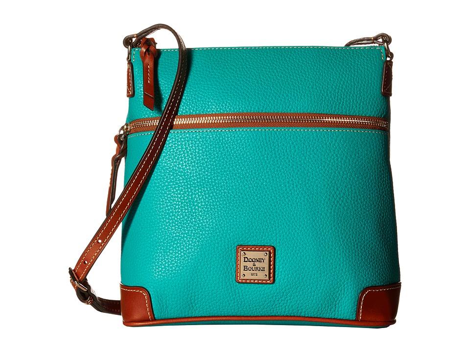 Dooney & Bourke - Pebble Crossbody (Spearmint/Tan Trim) Cross Body Handbags