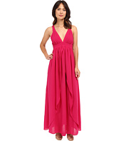 Adelyn Rae - Woven Maxi Dress w/ Open Back