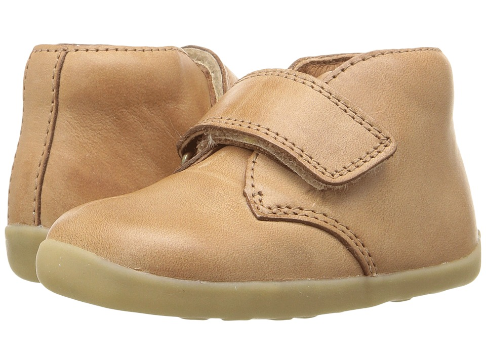 Bobux Kids Step Up Wander (Infant/Toddler) (Caramel Brown) Boy's Shoes