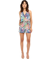 Adelyn Rae - Surplus Sleeveless Printed Romper