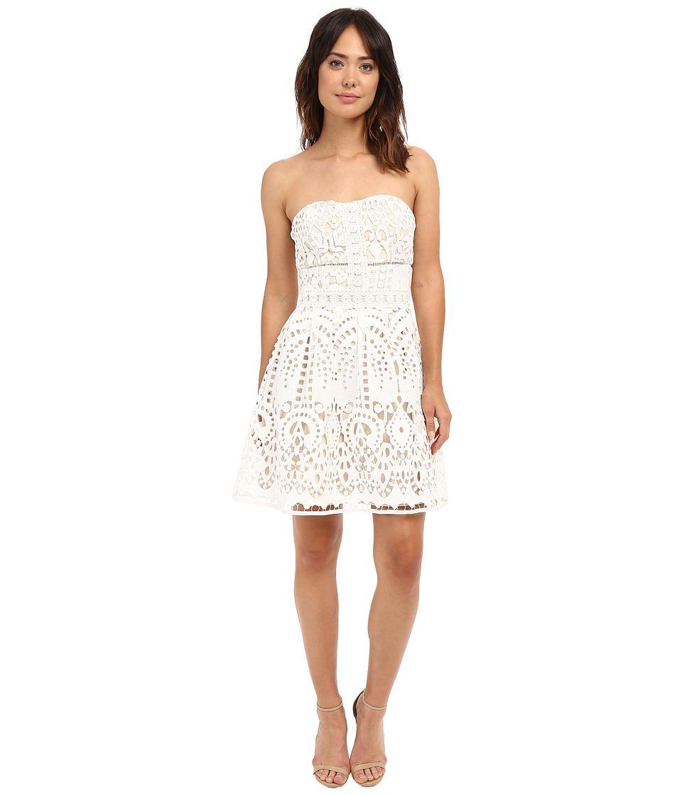 Adelyn Rae Tube Lace Dress White Womens Dress