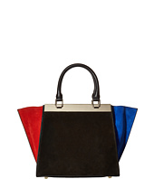 Alice + Olivia - Color Block Suede Athena Satchel