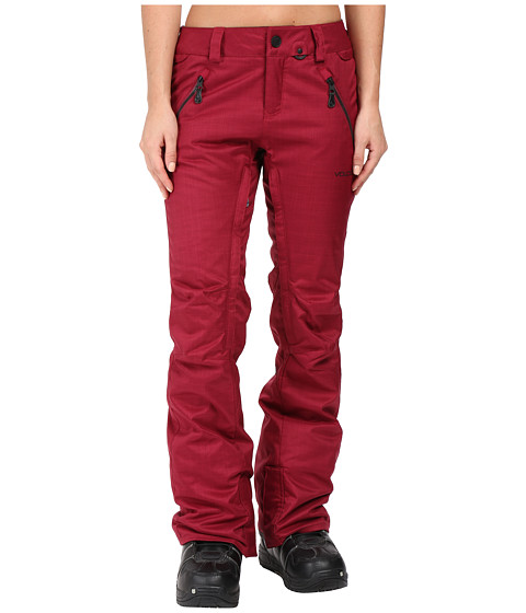 Volcom Snow Calico Insulated Pants - Mulberry