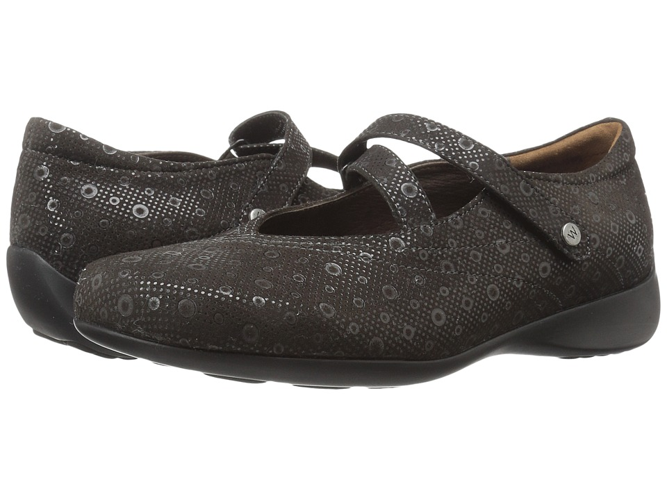 Wolky Passion (Gray Pattern) Flats