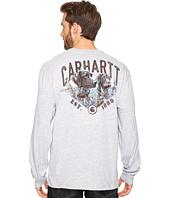 Carhartt - Maddock Graphic Carhartt's Best Friend Long Sleeve Pocket T-Shirt
