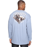 Carhartt - Big & Tall Maddock Graphic Carhartt's Best Friend Long Sleeve Pocket T-Shirt
