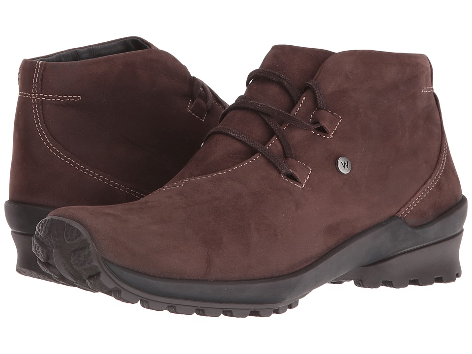 Wolky Arctic (Brown Nepal Oiled Leather) Women