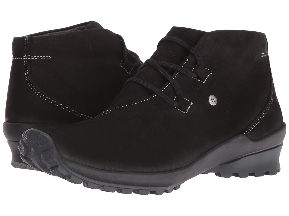Wolky Arctic (Black Nepal Oiled Leather) Women