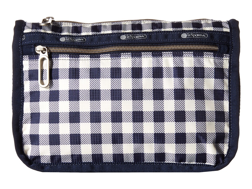 LeSportsac - Everyday Cosmetic Case (Gingham Classic Navy) Cosmetic Case