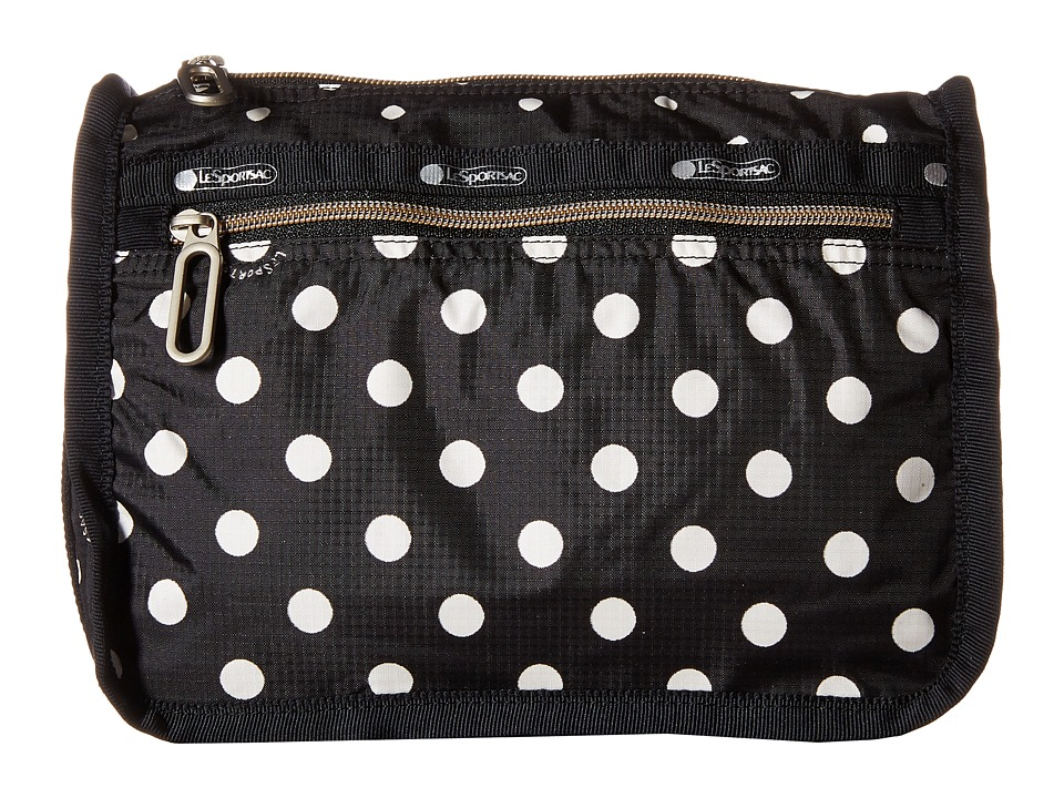 LeSportsac - Everyday Cosmetic Case (Sun Multi Black) Cosmetic Case