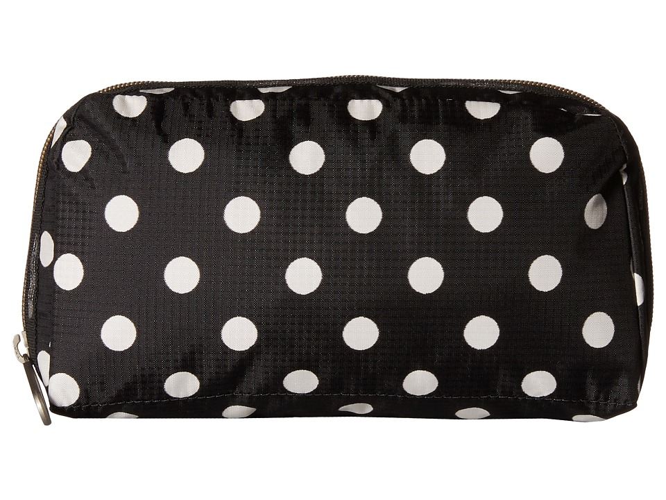 LeSportsac - Essential Cosmetic Case (Sunshine Dot Black) Cosmetic Case