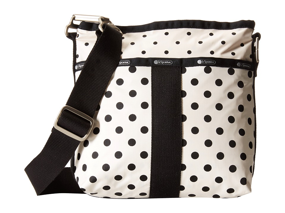 LeSportsac - Essential Crossbody (Sun Multi Cream) Cross Body Handbags