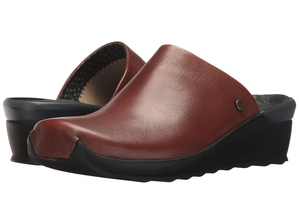 Wolky Go (Cognac Malibu Suede) Sandals