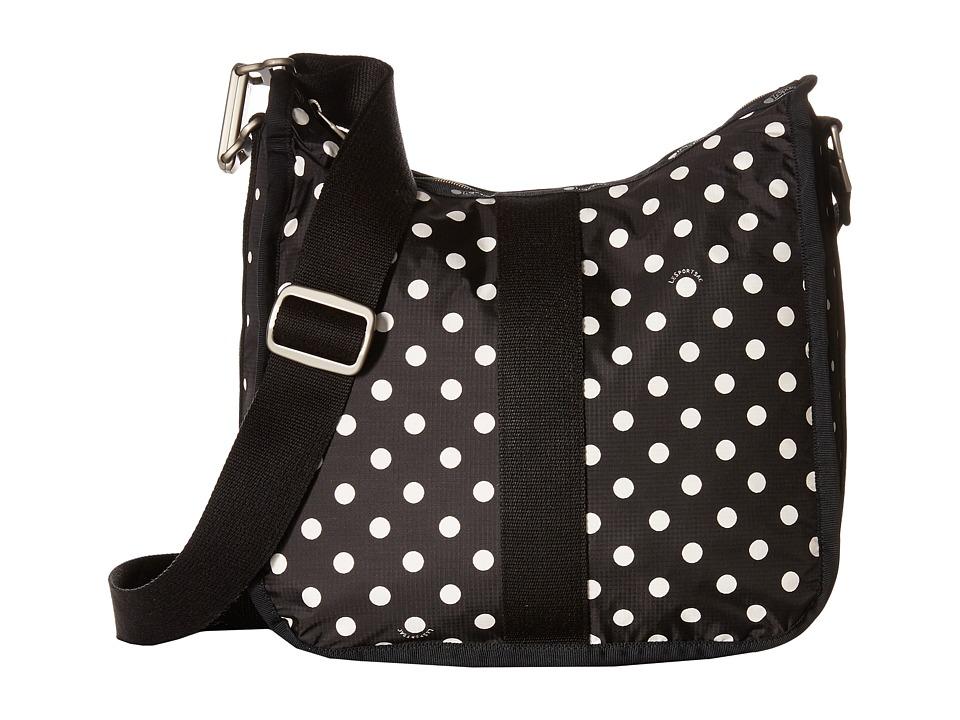 LeSportsac Weekender Hobo Sun Multi Black Hobo Handbags