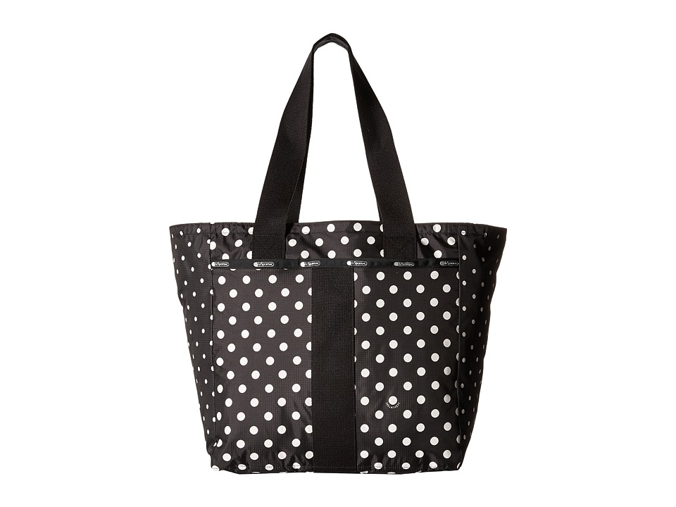 LeSportsac - Everyday Tote (Sun Multi Black) Tote Handbags