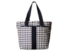 LeSportsac Everyday Tote (Gingham Classic Navy)