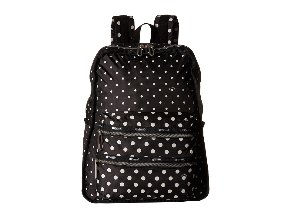 LeSportsac - Functional Backpack (Sun Multi Black) Backpack Bags