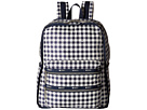 LeSportsac Functional Backpack (Gingham Classic Navy)