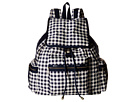 LeSportsac 3-Zip Voyager (Gingham Classic Navy)