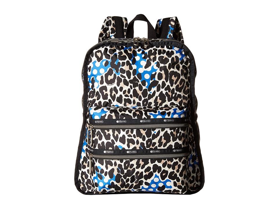 LeSportsac - Functional Backpack (Animal Dots) Backpack Bags