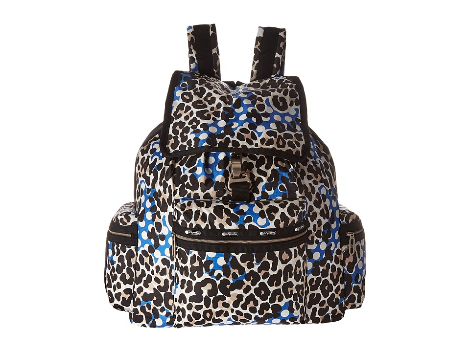 LeSportsac 3 Zip Voyager Animal Dots Handbags