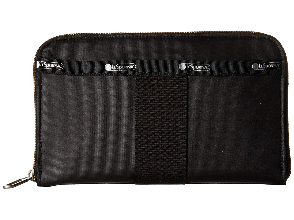 LeSportsac - Everyday Wallet (True Black) Wallet Handbags