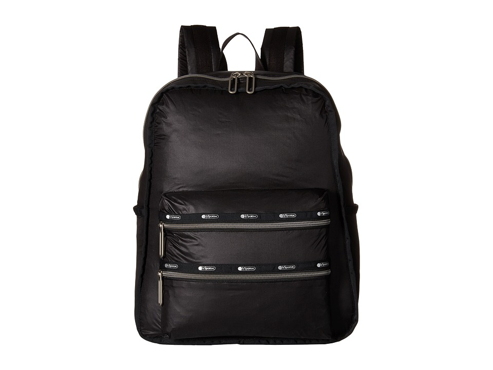 LeSportsac - Functional Backpack (True Black) Backpack Bags