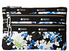 LeSportsac Classic 3-Zip Pouch (Flower Cluster)