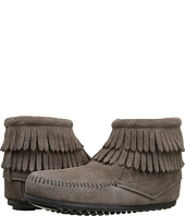 Minnetonka Kids - Double Fringe Side Zip Boot (Toddler/Little Kid/Big Kid)