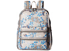 LeSportsac Functional Backpack (Flower Cluster Khaki)