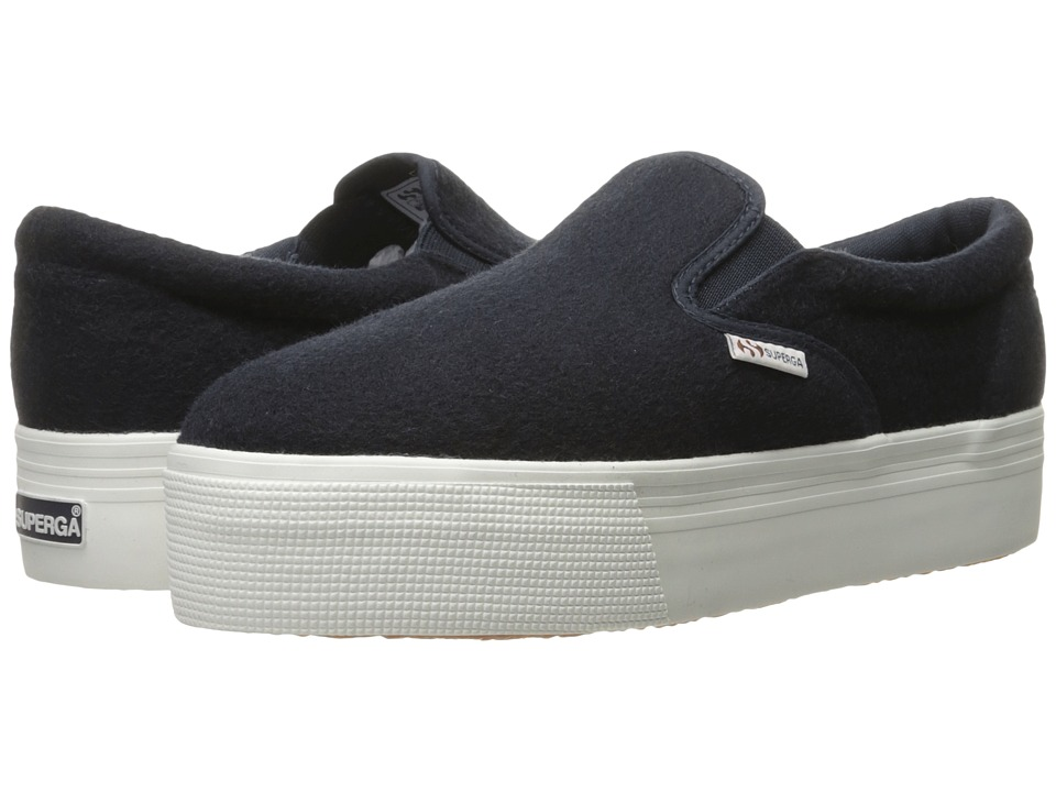 Superga - 2314 Polywoolw (Navy) Women