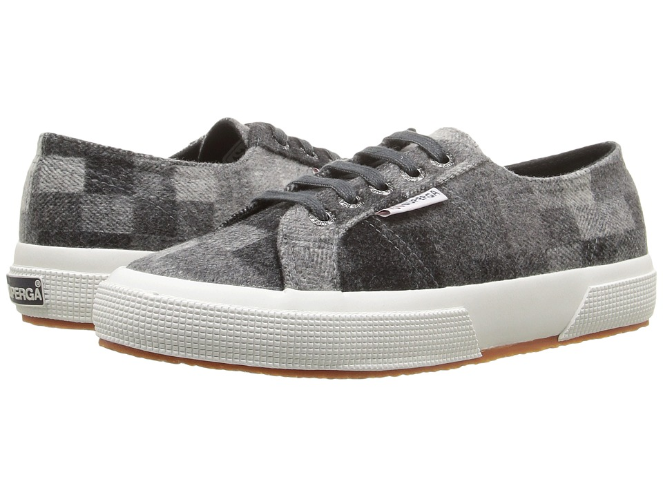 Superga - 2750 Polywoolfanw (Black Multi) Women