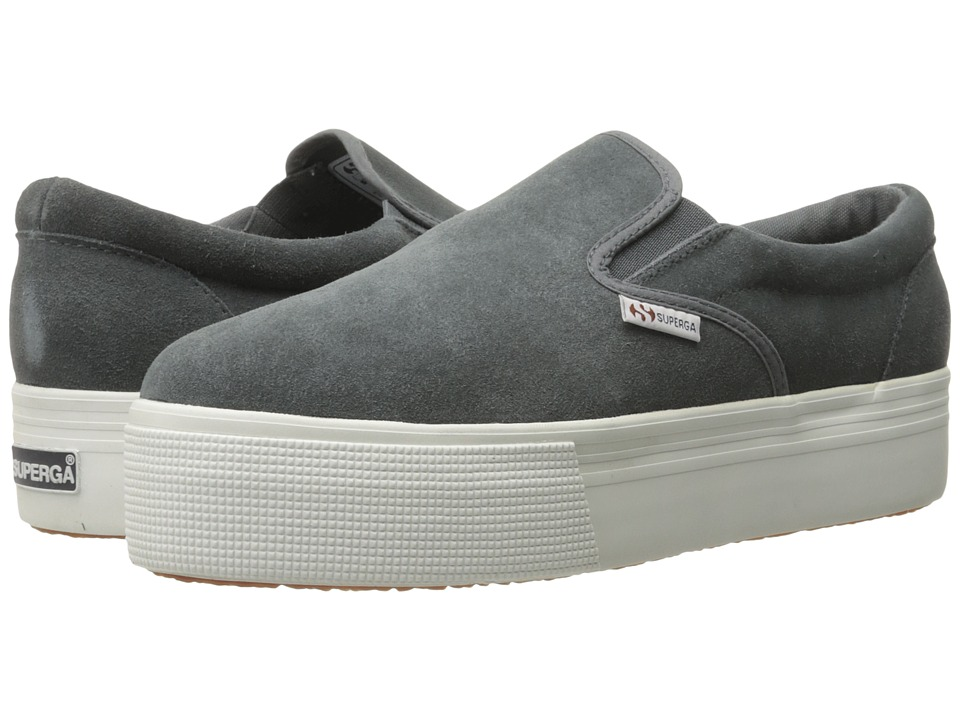 Superga - 2314 Suew (Grey Stone) Women