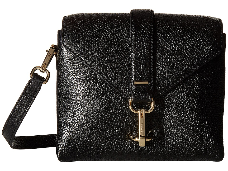 ECCO - Isan Small Crossbody (Black) Cross Body Handbags