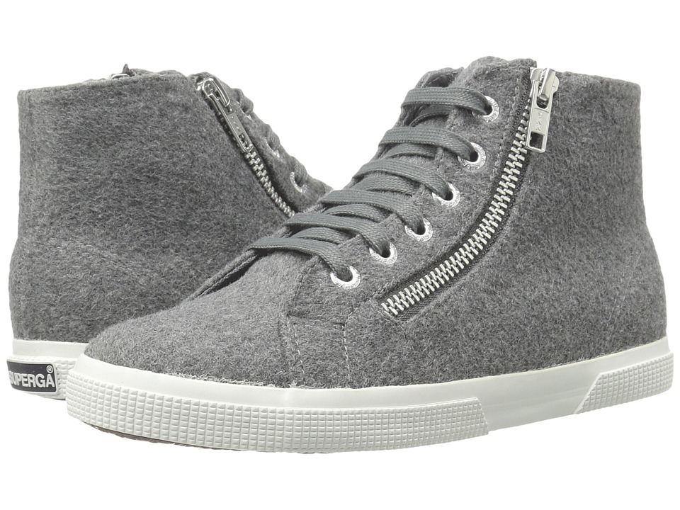 Superga - 2224 Polywoolw (Grey Pearl) Women