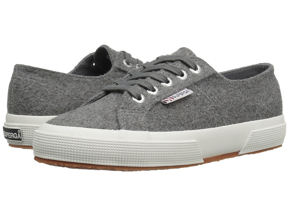 Superga - 2750 Polywoolw (Grey Pearl) Women