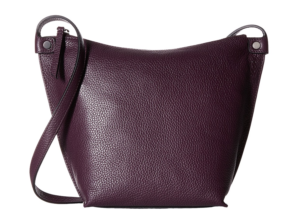 ECCO - Sculptured Crossbody (Mauve) Cross Body Handbags
