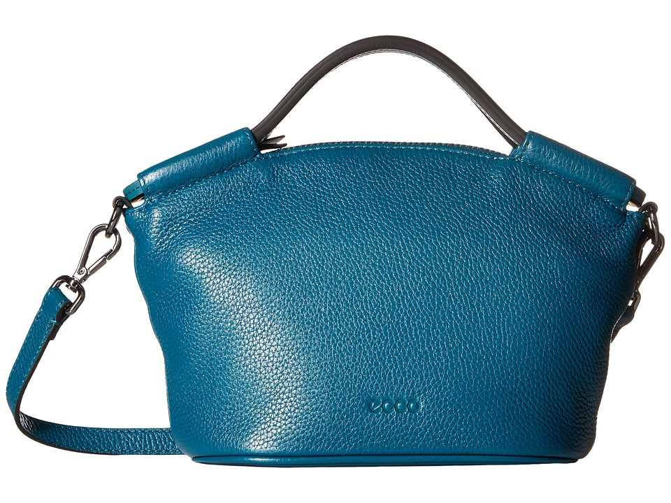 ECCO - SP 2 Small Doctors Bag (Teal) Handbags