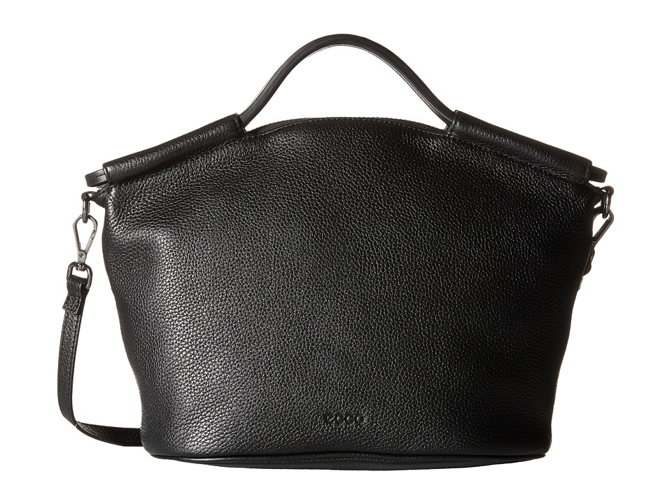 ECCO - SP 2 Medium Doctors Bag (Black) Handbags