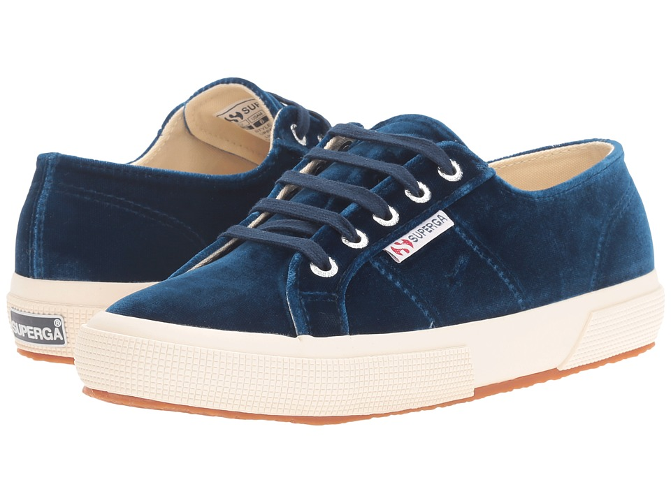 Superga - 2750 Velvetw (Blue) Women